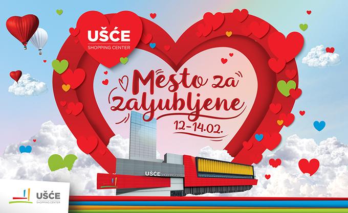 Usce Dan zaljubljenih Povodom Dana zaljubljenih prvi ljubavni katanci u Beogradu