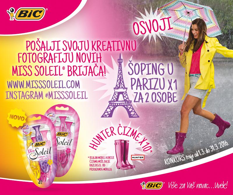 Wannabe 670x800 1 Fotografiši nove BIC Miss Soleil Colour Collection i osvoji put u Pariz i druge vredne nagrade!