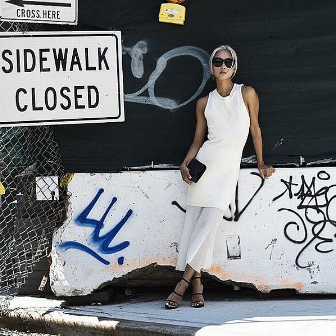 bela kombinacija Trikovi stila pravih Njujorčanki