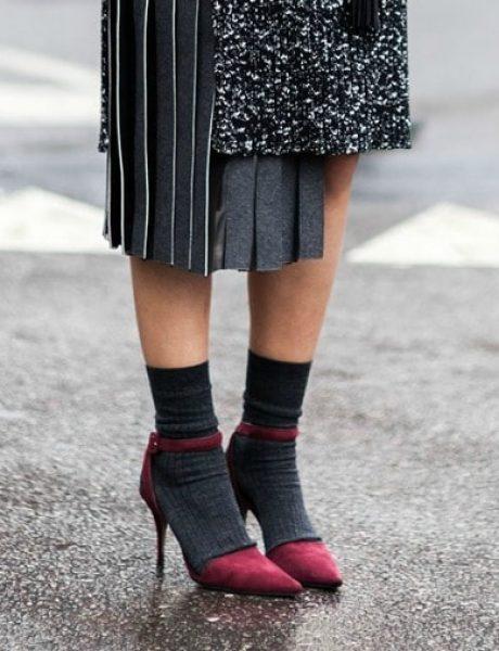 Kako da nosite SOKNE sa štiklama?