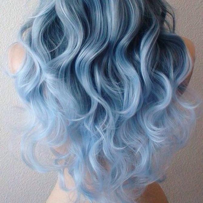 plava2 Da li je kosa u boji TEKSASA novi trend?