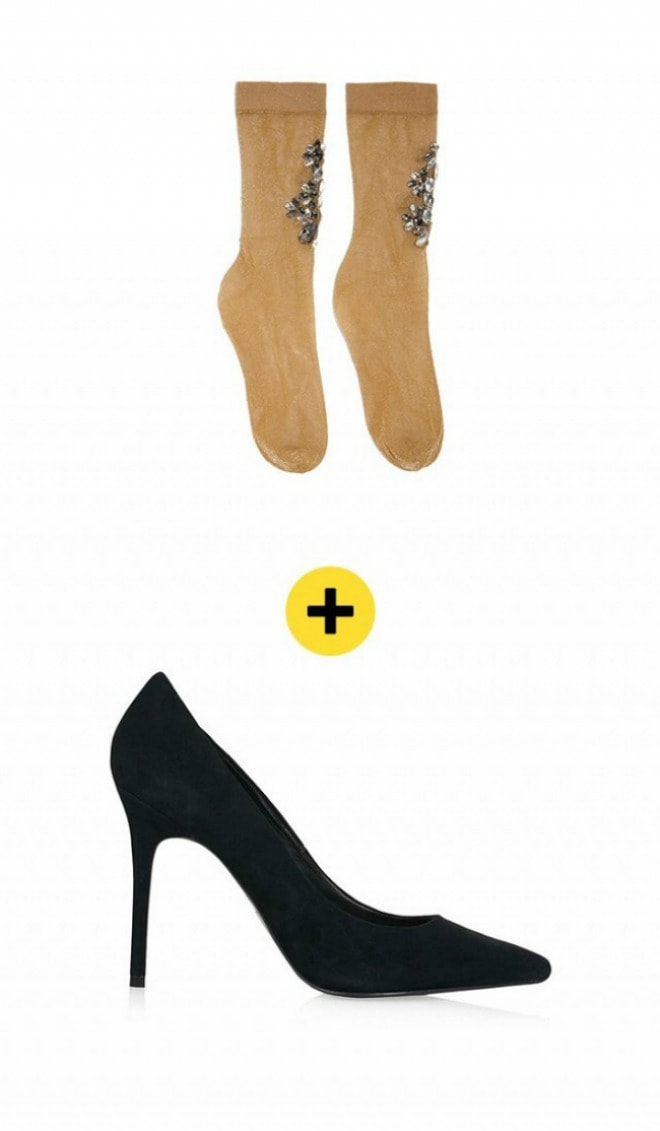 sokne i cipele1 min Kako da nosite SOKNE sa štiklama?