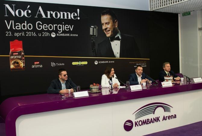 vlado Grand Aroma kafa vas vodi na koncert Vlade Georgieva!