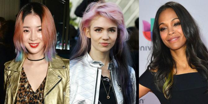Šareno Trendi boje kose za tople PROLEĆNE dane