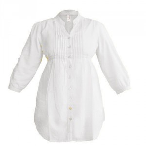776981 women cotton white shirt top tunic Kviz: Koji model farmerki treba da NOSIŠ ovog proleća?