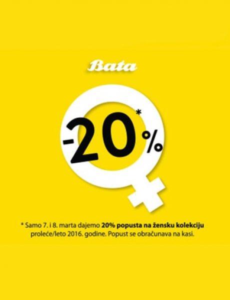 Dan žena u Bata radnjama