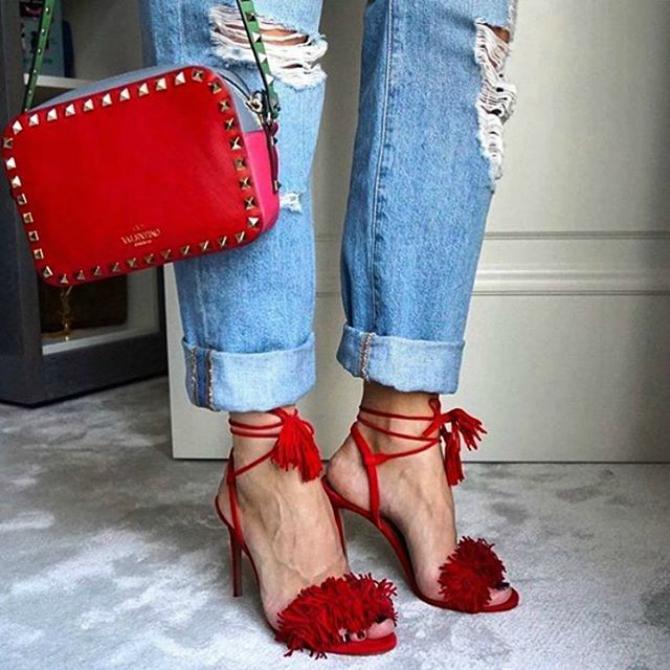 Crvene Sandale koje su OSVOJILE Instagram