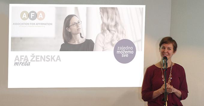 Erika Kin Atese za kulturu Ambasada SAD u Beogradu AFA    ženska mreža za žene koje stvaraju bolje sutra