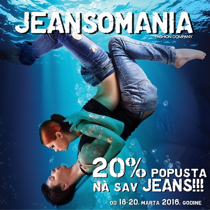INSTAGRAM Specijalna Weekend Jeansomania je tu!