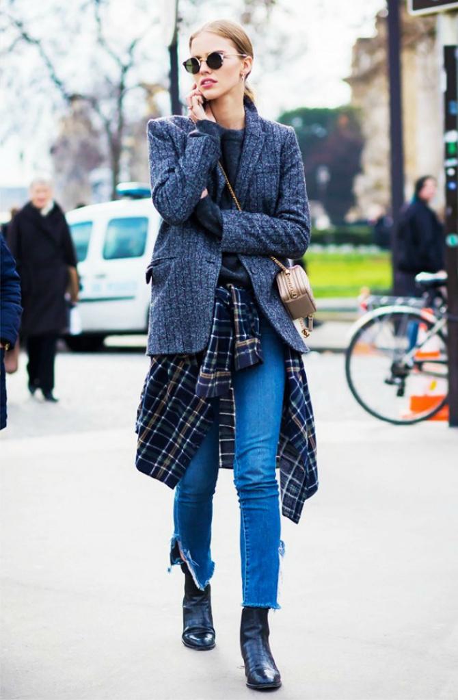 Koslulja Najbolje kombinacije džinsa i kratkih čizama koje MORATE probati