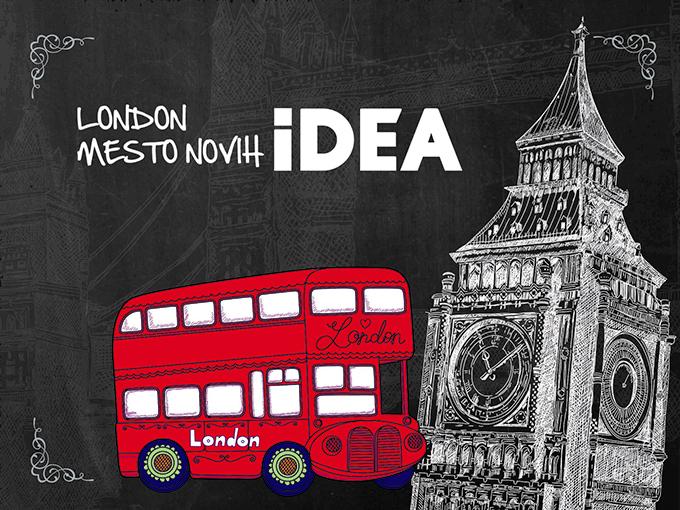 London fotka Osetitite duh Londona u Beogradu