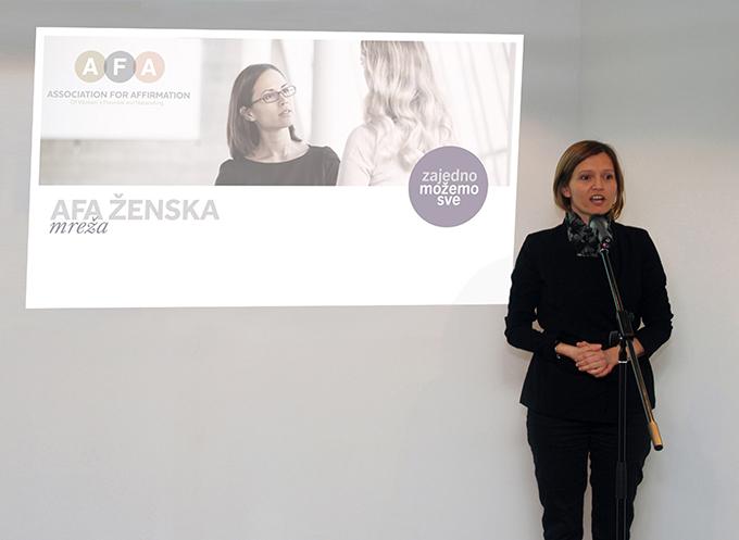 Marijana Agić Molnar direktorka agencije za ispitivanje tržišta GFK AFA    ženska mreža za žene koje stvaraju bolje sutra