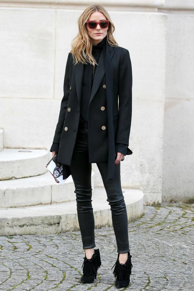 Olivija Zašto je izbor u crnom od glave do pete dobar modni potez?