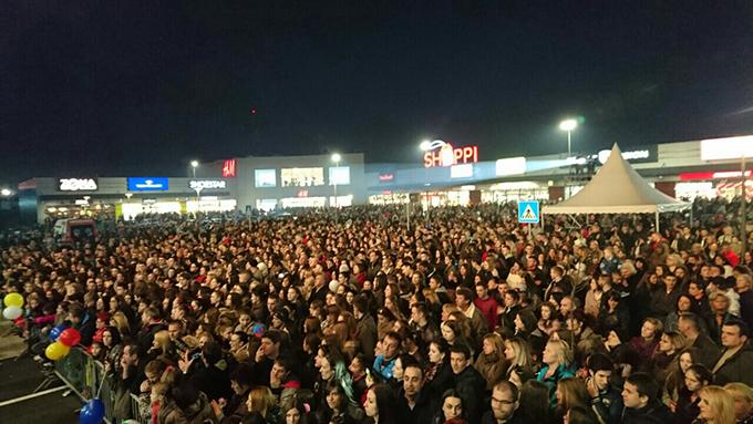 Otvoren Shoppi Retail Park Na otvaranju prvog Shoppi Retail parka preko 20.000 ljudi