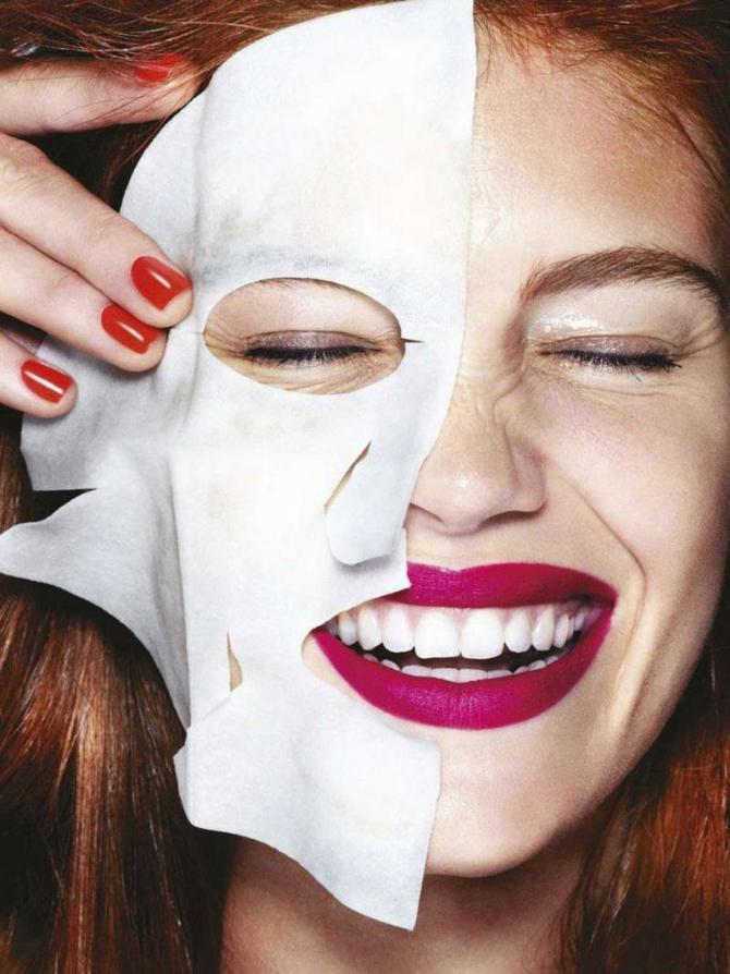 Smeh Sjajni trikovi za PRAVILNO nanošenje maske za lice