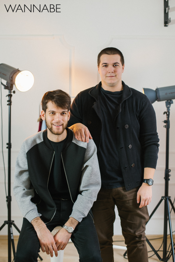 WM Mates Intervju: Marko Ilijev i Saša Stević, modni dizajneri, brend Mates