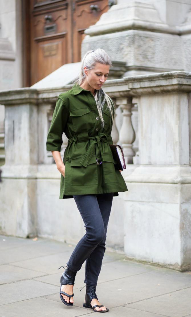 Zeleno2 Street style: Minimalističke kombinacije Sare Haris