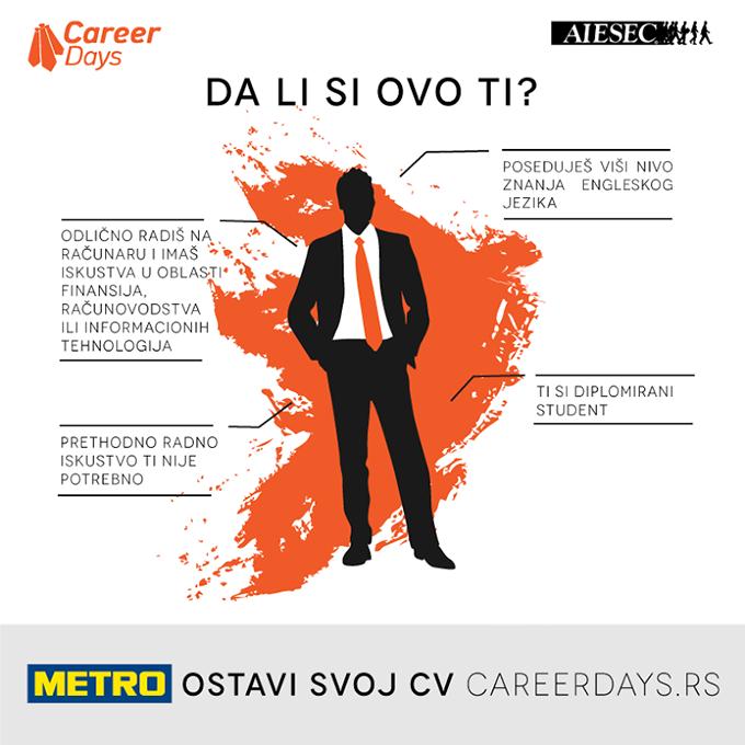 metro Pronađi savršenu karijeru za sebe!