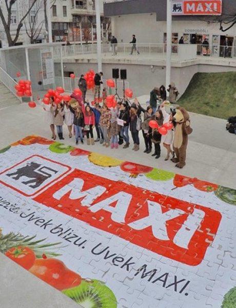 Maxi supermarketi predstavili novi logo