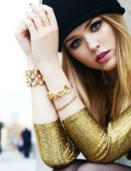 6 načina kako da izgledaš ZANOSNO u zlatnom