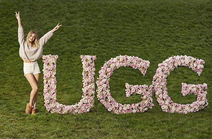 352833 Ugg predstavlja Rouzi Hantington Vajtli kao svog prvog globalnog ambasadora