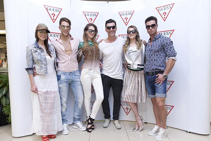 Bosko Jakovljevic sa modelima FOX a Zvezde podržale novi Guess White Concept