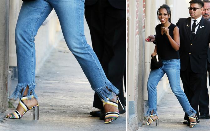 Džins Dokaz da je Keri Vošington kraljica efektnih cipela (GALERIJA)