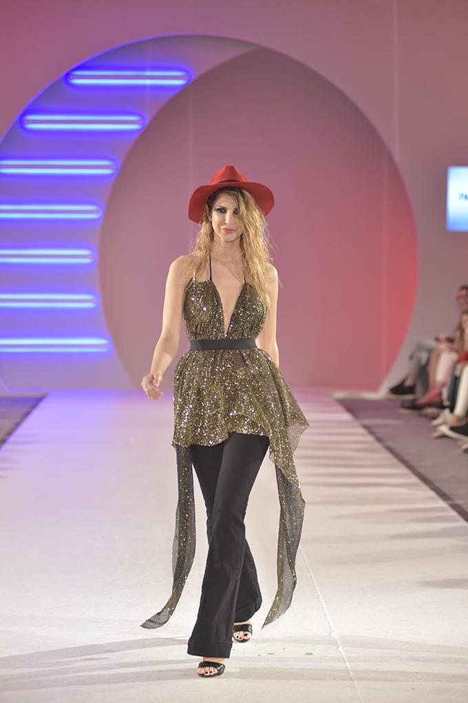 Iva Stefanović 1 39. Black'n'Easy Fashion Week: Tribute to David Bowie & MATES