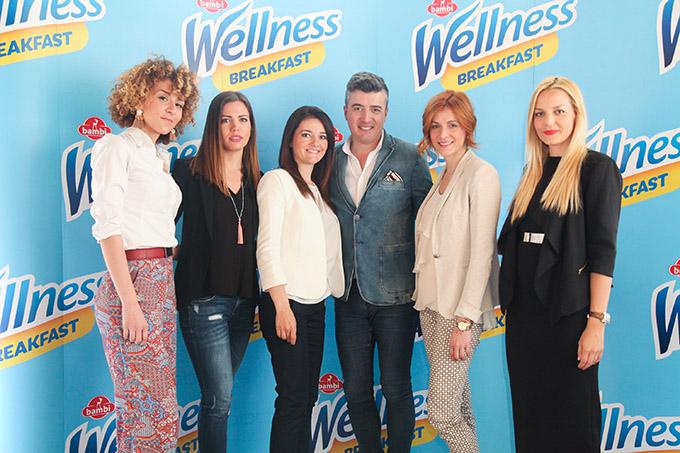 Kompanija Bambi i Bojana Stefanovic Wellness Breakfast – I dan može da počne