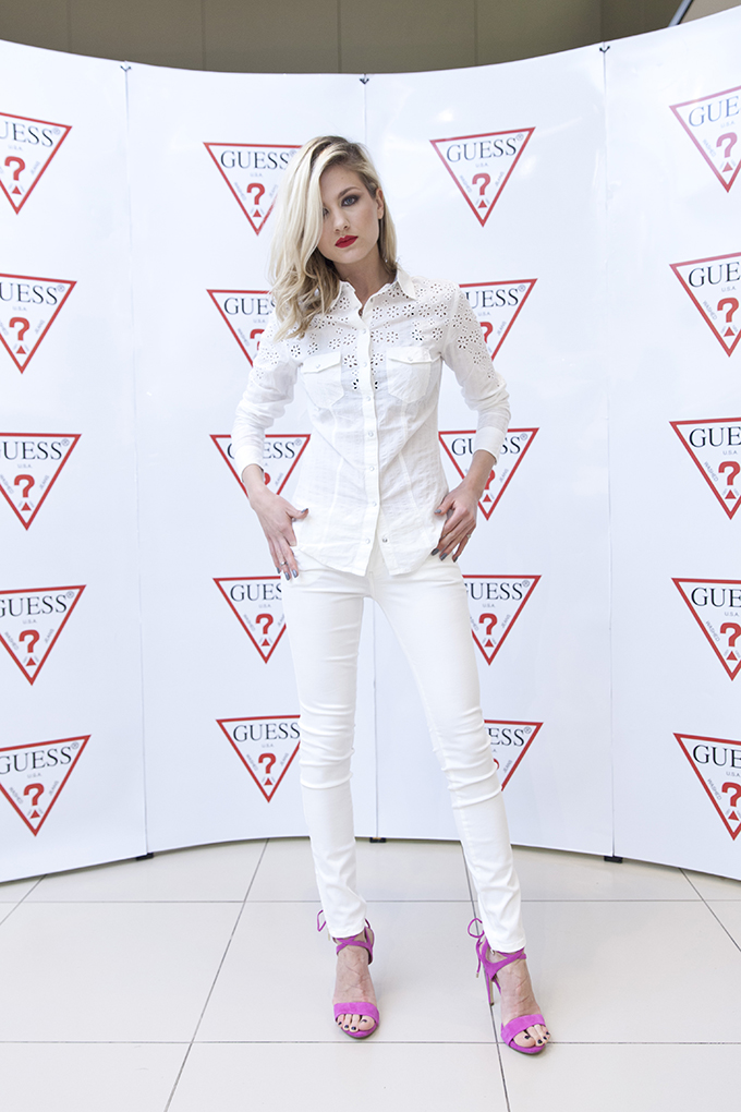 Nevena Bozovic Zvezde podržale novi Guess White Concept