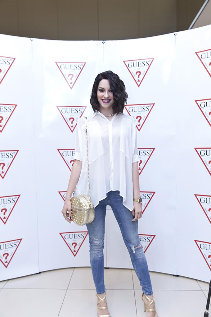 Sara Jovanovic Zvezde podržale novi Guess White Concept
