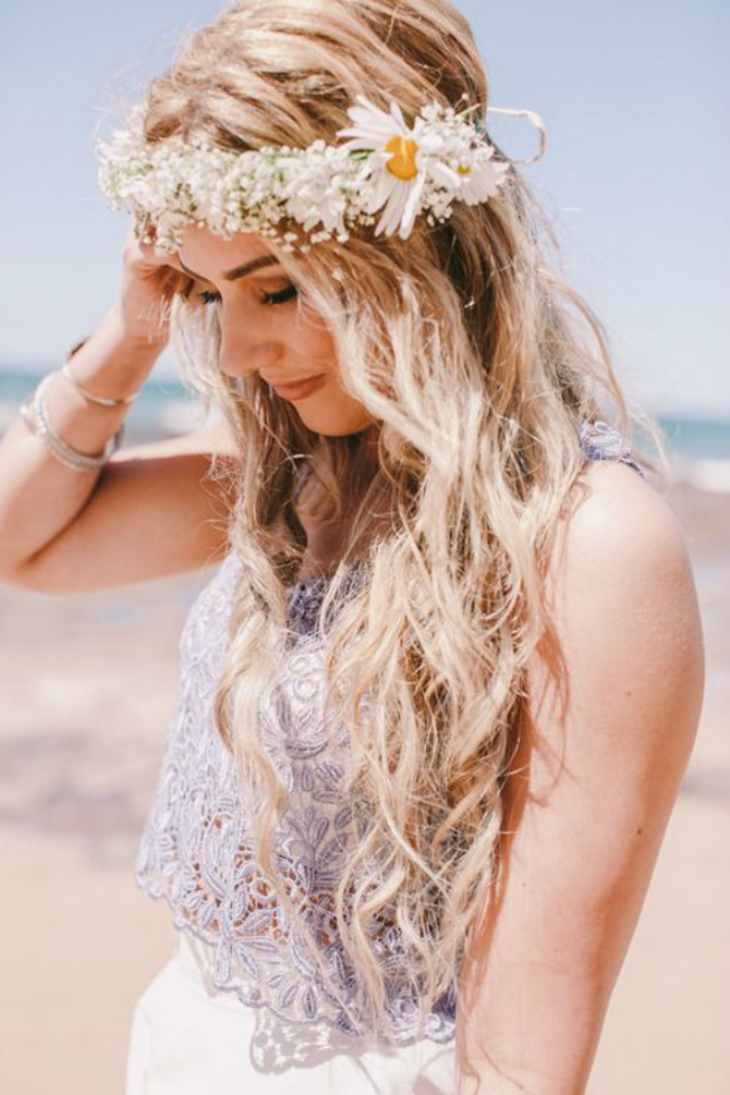 Talasasta kosa i kruna od cveća Moderne FRIZURE koje će dominirati ove sezone