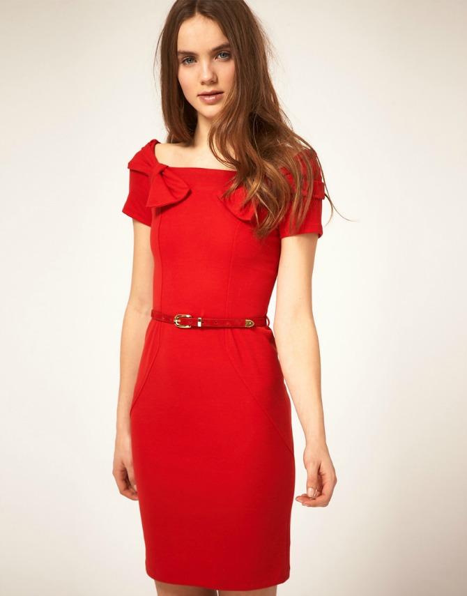 crvena haljina 5 odevnih kombinacija za VEČERNJI izlazak