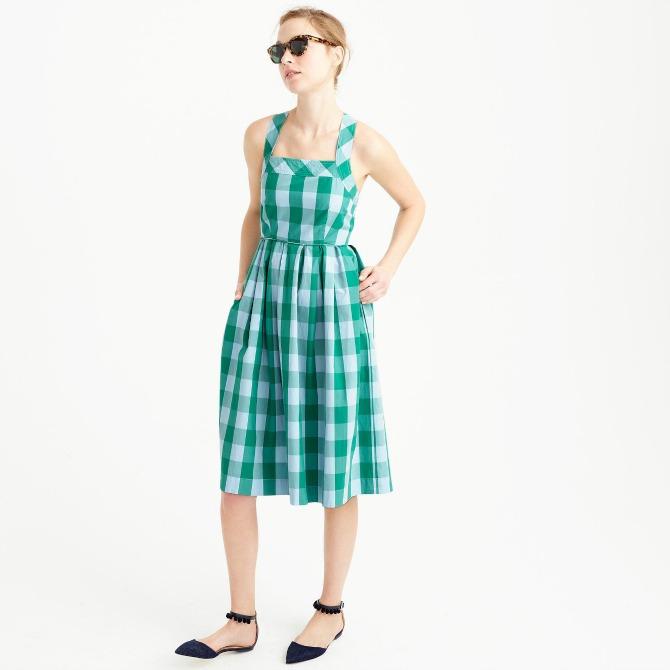 haljina na kockice Odeća sa PRINTOM koju svaka žena mora da ima