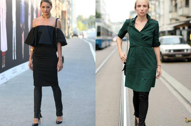 haljina1 Neobične kombinacije koje ćete OBOŽAVATI ovog proleća