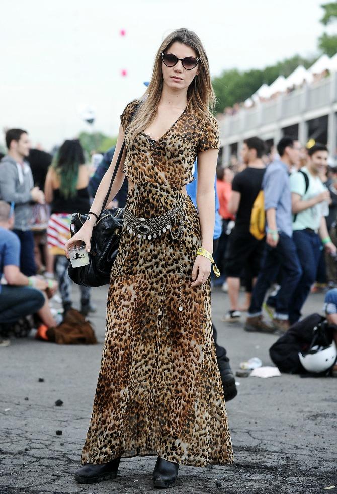 leopard print haljina Odeća sa PRINTOM koju svaka žena mora da ima