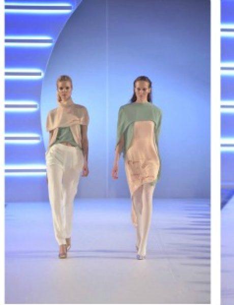 Studentkinje Modnog dizajna na Belgrade Fashion Week-u