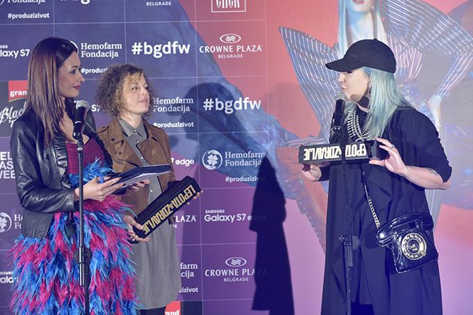 tijana jovanovic i ivana pilja Dodelom nagrada zatvoren 39. Black n Easy Fashion Week