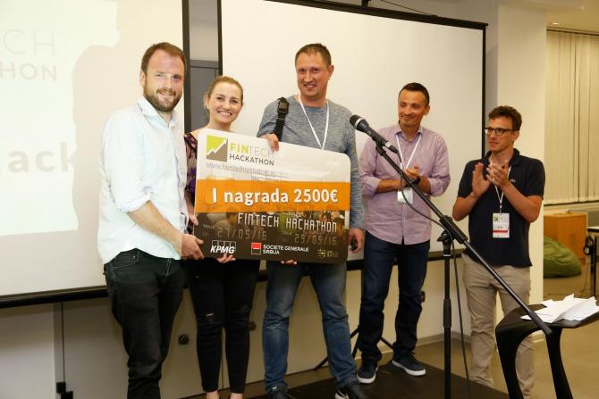1 nagrada Završen PRVI Fintech hakaton u Srbiji