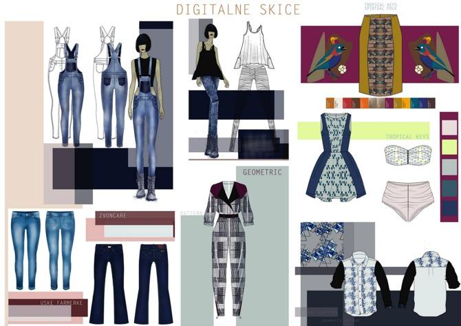 Digitalne skice Intervju: Anja Plemić, studentkinja modnog dizajna na Univerzitetu Metropolitan