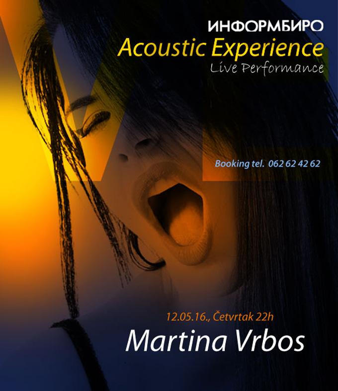 Live Performance Martina Vrbos Najbolja ŽIVA svirka u gradu ovog maja