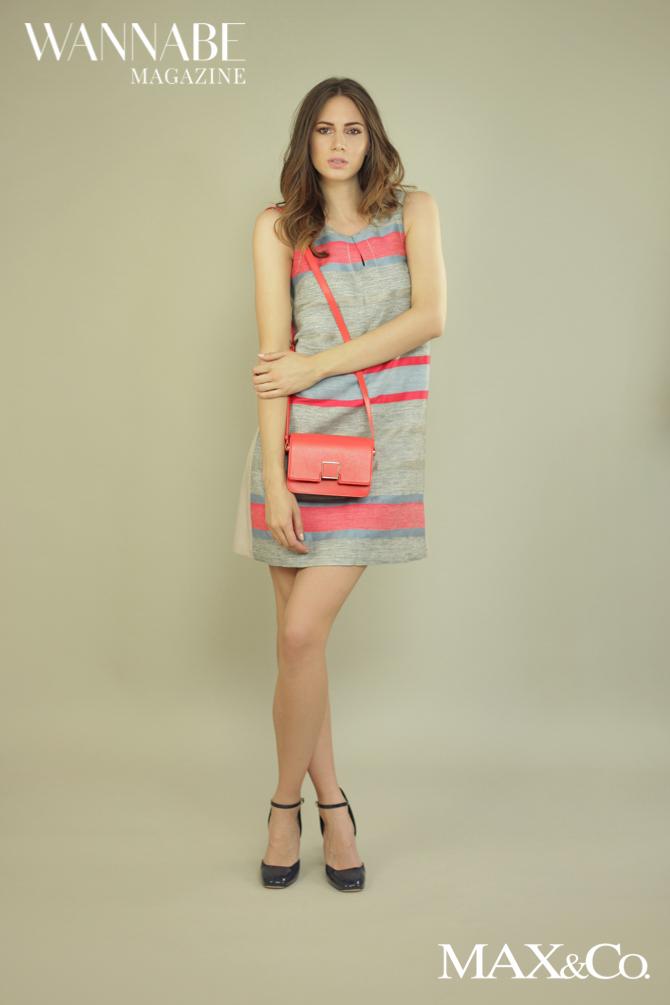 Max Co modni predlozi 11 Modni predlog Max&Co: Koralna boja i pruge + Giveaway