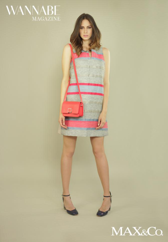 Max Co modni predlozi 12 Modni predlog Max&Co: Koralna boja i pruge + Giveaway