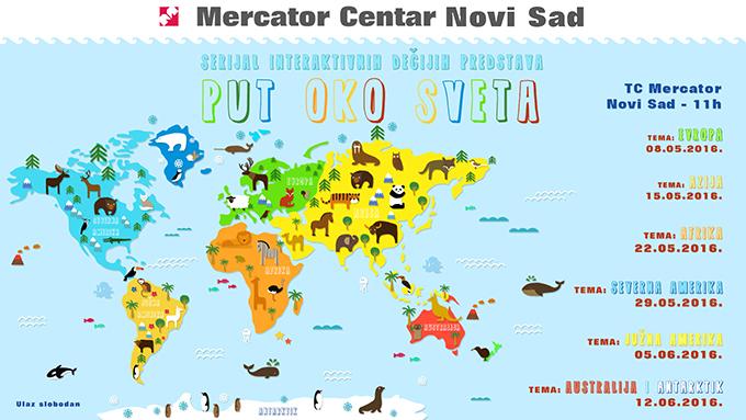 Mercator Put oko sveta NOVI SAD Kako da dobijete Zlatni pasoš znalca sveta