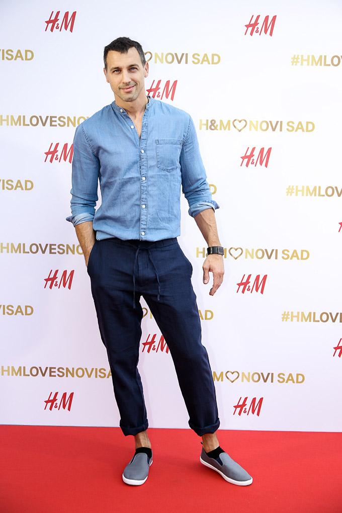 Vladimir Cvetkovic Svečano otvorena nova H&M prodavnica u centru Novog Sada