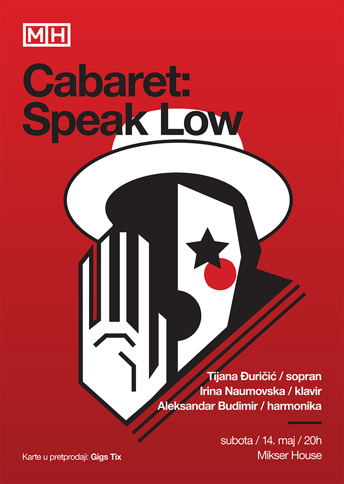 cabaret speak low B2 print Cabaret: Speak Low   dođite u Mikser House