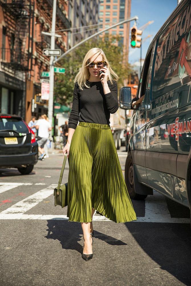 duga suknja Kombinacije koje OBOŽAVAJU žene u tridesetim