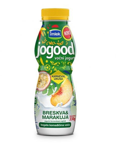 Novi egzotični Jogood ukus – breskva i marakuja