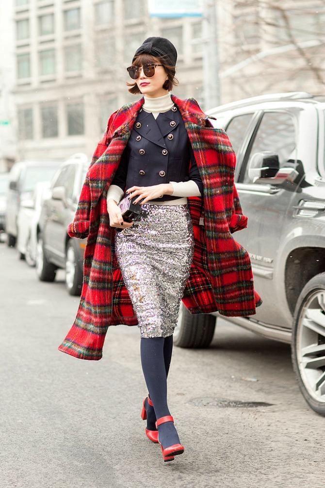 sljokicasta suknja Kombinacije koje OBOŽAVAJU žene u tridesetim
