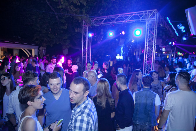 Drago Jovanovic1 Modno muzički performans EXIT a i Fashion&Friends a na Kalemegdanskoj terasi